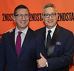 Jeffrey LaHoste and Moises Kaufman attends the Off-Broadway Opening Night performance of the Second Stage Production on 'Torch Song'  on October 19, 2017 at Tony Kiser Theater in New York City.
