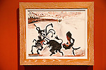 """'Bull Fighting"""" 1960 by Pablo Picasso (1881-1973), oil on canvas, Kode 4 art gallery Bergen, Norway - check copyright status for intended use"""