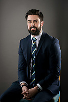 Picture by Allan McKenzie/SWpix.com - 09/02/18 - Cricket - Yorkshire County Cricket Club Corporate Headshots - Headingley Cricket Ground, Leeds, England - Will Saville.