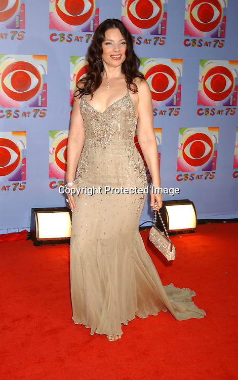 ..Fran Drescher..at CBS's 75th Anniversary at The Hammerstein Ballroom in ..New York City on November 2, 2003. Photo by Robin Platzer, Twin Images