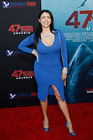 Los Angeles, CA - AUG 13:  Gia Fey attends the Los Angeles Premiere of '47 Meters Down: Uncaged' at Regal Village Theater on August 13 2019 in Los Angeles CA. Credit: CraSH/imageSPACE/MediaPunch