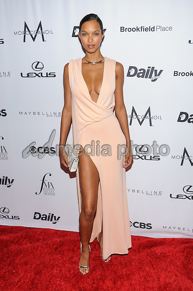 08 September 2016 - New York, New York- Lais Ribeiro. Daily Front Row's Fourth Annual Fashion Media Awards. Photo Credit: Mario Santoro/AdMedia