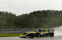 11th July 2020; Styria, Austria; FIA Formula One World Championship 2020, Grand Prix of Styria qualifying sessions;  3 Daniel Ricciardo AUS, Renault DP World F1 Team, Spielberg Austria