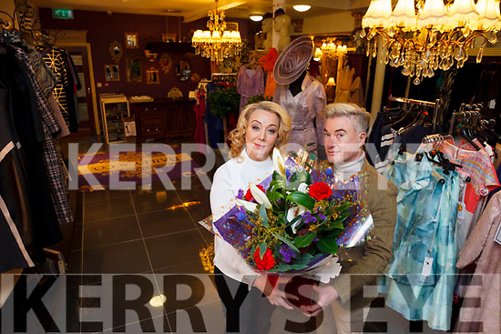 Listowel boutique Baily & Co has won boutique of the year in the Style search Ireland Awards. Pictured is owner Danny Russell congratulating manager Mary Boyle.