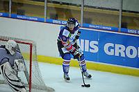 IJSHOCKEY: HEERENVEEN: IJsstadion Thialf, 02-02-2013, Eredivisie, UNIS Flyers - Amsterdam G's, Eindstand: 9-2, Sander Dijkstra (#5 | Flyers), ©foto Martin de Jong