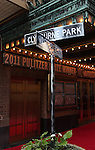 Theatre Marquee for the Broadway Opening Night Performance of 'Clybourne Park' at the Walter Kerr Theatre in New York City on 4/19/2012