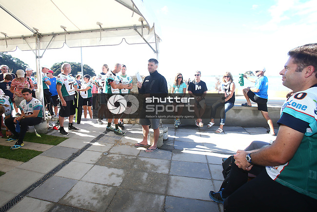 NELSON, NEW ZEALAND - April 3: Godzone Pursuit teams start on April 3 2016 in  Kaiteriteri,Nelson, New Zealand. (Photo by: Evan Barnes Shuttersport Limited)