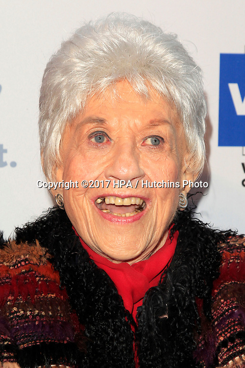 LOS ANGELES - JUN 11:  Charlotte Rae at the Actors Fund's 21st Annual Tony Awards Viewing Party at the Skirball Cultural Center on June 11, 2017 in Los Angeles, CA