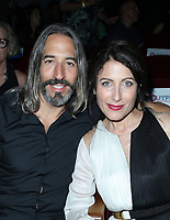 "LOS ANGELES, CA-  Robert Russell, Lisa Edelstein, At 2017 Outfest Los Angeles LGBT Film Festival - Closing Night Gala Screening Of ""Freak Show"" at The Theatre at Ace Hotel, California on July 16, 2017. Credit: Faye Sadou/MediaPunch"