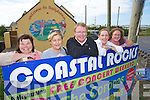 Some of the Committee for the forthcoming Costal Rocks free concert which takes place in Ballybunion on the 26th and 27th of June from left Joanna McCarthy, Maura Harrington, Greg Ryan, Mary O'Grady and Jenifer Walsh.