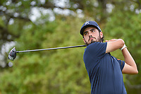 Abraham Ancer (MEX) watches his tee shot on 2 during day 1 of the Valero Texas Open, at the TPC San Antonio Oaks Course, San Antonio, Texas, USA. 4/4/2019.<br /> Picture: Golffile | Ken Murray<br /> <br /> <br /> All photo usage must carry mandatory copyright credit (© Golffile | Ken Murray)