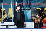Stockholm 2014-03-21 Ishockey Kvalserien AIK - R&ouml;gle BK :  <br /> Viasat Sport expert Leif R Str&ouml;mberg med ett headset <br /> (Foto: Kenta J&ouml;nsson) Nyckelord:  portr&auml;tt portrait