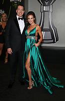 29 November 2018 - Las Vegas, NV - Kyle Busch, Samantha Busch. 2018 Monster Energy NASCAR Awards Red Carpet at Wynn Las Vegas.     <br /> CAP/ADM/MJT<br /> &copy; MJT/ADM/Capital Pictures