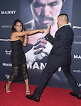 Christina Milian and Chuck Liddell attends The Los Angeles premiere of<br /> MANNY at The TCL Chinese Theater  in Hollywood, California on January 20,2015                                                                               &copy; 2015 Hollywood Press Agency