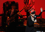 Yoko Ono and Sean Lennon perform at We are Plastic Ono Band on night 2 at The Orpheum Theatre in Downtown Los Angeles, California on October 02,2010                                                                   Copyright 2010  Debbie VanStory / RockinExposures