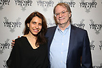 "Sarah Stern and Douglas Aibel attending the Opening Night Performance for The Vineyard Theatre production of  ""Do You Feel Anger?"" at the Vineyard Theatre on April 2, 2019 in New York City."