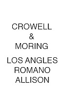Crowell & Moring Los Angeles Romano Allison