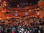 *** EXCLUSIVE Coverage ***.( Audience Atmosphere ).Woody Allen and his New Orleans Jazz Band performing at Placio De Los Congresos y De La Musica Euskalduna in Bilbao, Spain..December 29, 2004.© Walter McBride /