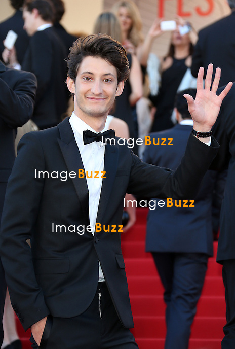 CPE/Actor Pierre Niney attends the 'Blood Ties' Premiere during the 66th Annual Cannes Film Festival at the Palais des Festivals on May 20, 2013 in Cannes, France.