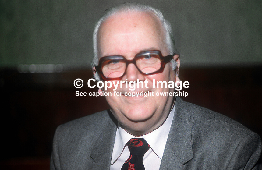 Brendan Harkin, Fair Employment Agency, N Ireland,  January, 19820120026BH<br /> <br /> Copyright Image from Victor Patterson,<br /> 54 Dorchester Park, <br /> Belfast, UK, BT9 6RJ<br /> <br /> t1: +44 28 9066 1296 (from Rep of Ireland 048 9066 1296)<br /> t2: +44 28 9002 2446 (from Rep of Ireland 048 9002 2446)<br /> <br /> m: +44 7802 353836<br /> <br /> e: victorpatterson@me.com<br /> www.victorpatterson.com<br /> <br /> Please see my Terms and Conditions of Use at www.victorpatterson.com. It is IMPORTANT that you familiarise yourself with them.<br /> <br /> Images used on the Internet must be visibly watermarked i.e. &copy; Victor Patterson<br /> within the body of the image and copyright metadata must not be deleted. Images <br /> used on the Internet have a size restriction of 4kbs and will be chargeable at current<br />  NUJ rates unless agreed otherwise.<br /> <br /> This image is only available for the use of the download recipient i.e. television station, newspaper, magazine, book publisher, etc, and must not be passed on to any third <br /> party. It is also downloaded on condition that each and every usage is notified within 7 days to victorpatterson@me.com<br /> <br /> The right of Victor Patterson to be identified as the author is asserted in accordance with The Copyright Designs And Patents Act (1988). All moral rights are asserted.