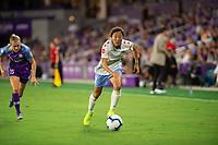 Orlando, FL - Wednesday September 11, 2019: Yuki Nagasato , Orlando Pride vs  Chicago Red Stars at Exploria Stadium.
