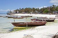 Kizimkazi Dimbani, Zanzibar Beach Scene.