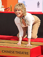 Jane Fonda honored with foot & hand print ceremony in Hollywood