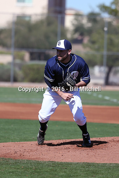 Brett Kennedy - San Diego Padres 2016 spring training (Bill Mitchell)