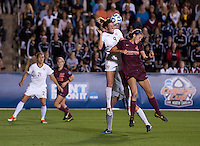 Kassey Kallman, Shannon Mayrose. Florida State defeated Virginia Tech, 3-2,  at the NCAA Women's College Cup semifinals at WakeMed Soccer Park in Cary, NC.