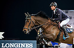 Denis Lynch of Ireland rides Querida in action during the Longines Grand Prix as part of the Longines Hong Kong Masters on 15 February 2015, at the Asia World Expo, outskirts Hong Kong, China. Photo by Victor Fraile / Power Sport Images