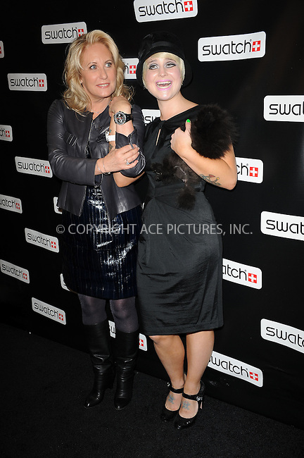 WWW.ACEPIXS.COM . . . . . ....November 12 2009, New York City....Dancing with the Stars' contestant Kelly Osbourne and Swatch Worldwide President, Madame Emch at the Swatch re-launch at the Swatch Store in Times Square on November 12, 2009 in New York City.....Please byline: KRISTIN CALLAHAN - ACEPIXS.COM.. . . . . . ..Ace Pictures, Inc:  ..(212) 243-8787 or (646) 679 0430..e-mail: picturedesk@acepixs.com..web: http://www.acepixs.com