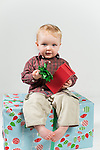 WATERBURY, CT- 10 December 2015-121015EC09-  Christmas Kids Metro. Owen Matthew, 13 months, is from Wolcott. Erin Covey Republican-American