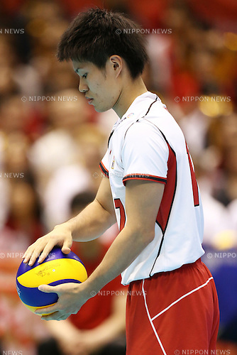 Masahiro Sekita (JPN), <br /> MAY 29, 2016 - Volleyball :<br /> Men's Volleyball World Final Qualification for the Rio de Janeiro Olympics 2016<br /> match between Japan 0-3 China<br /> at Tokyo Metropolitan Gymnasium, Tokyo, Japan.<br /> (Photo by Shingo Ito/AFLO SPORT)
