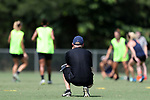 CARY, NC - JUNE 01: Paul Riley. The North Carolina Courage held a training session on June 1, 2017, at WakeMed Soccer Park Field 7 in Cary, NC.