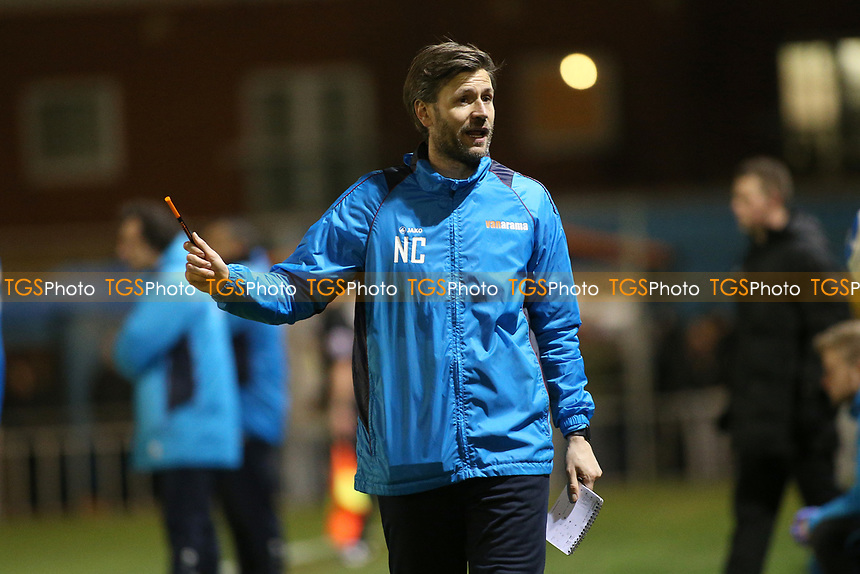 Lincoln City assistant manager Nicky Cowley during Braintree Town vs Lincoln City, Vanarama National League Football at the IronmongeryDirect Stadium on 7th March 2017
