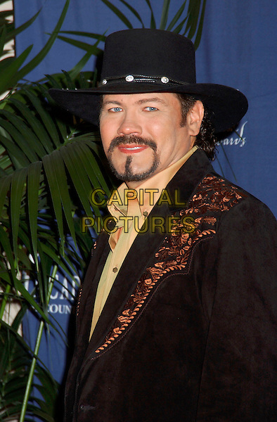 BUDDY JEWELL.The 40th Annual Academy of Country Music Awards (ACM) held at Mandalay Bay Resort & Casino, Las Vegas, Nevada, USA, 17th May 2005..portrait headshot beard cowboy hat.Ref: ADM.www.capitalpictures.com.sales@capitalpictures.com.©Laura Farr/AdMedia/Capital Pictures.
