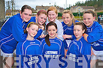 Listowel girls Amy Lyons, Niamh Stack, Shannon Canty, Aoife Shine, Aisling Grimes, Lauren Flavin, Olivia Scanlan and Siun Healy enjoying the KDYS games county finals in Killarney on Sunday......