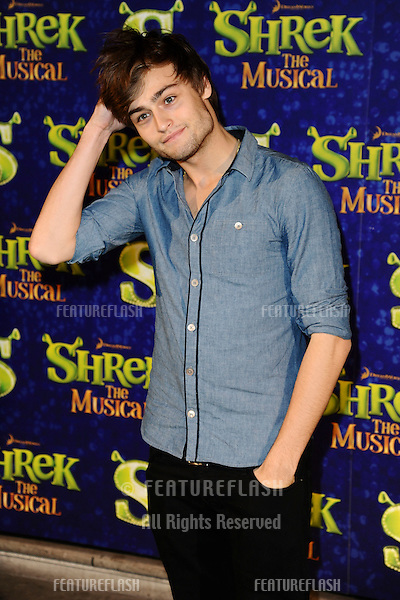"Douglas Booth arrives for the 1st night party of ""Shrek The Musical"" at Somerset House, London. 14/06/2011  Picture by: Steve Vas / Featureflash"