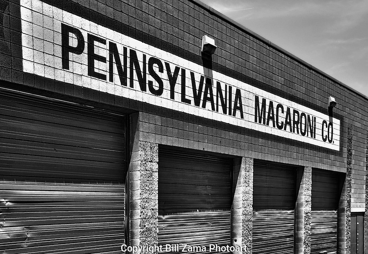 Pennsylvania Macaroni loading docks, The Strip, Pittsburgh PA