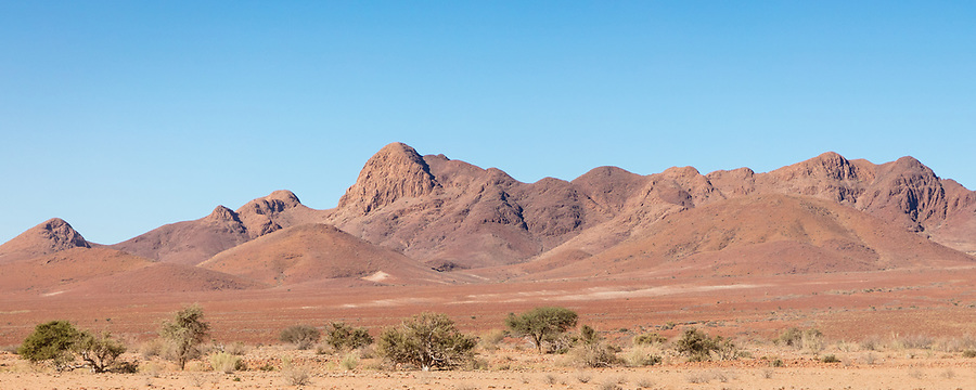 On The Road To Sossusvlei.