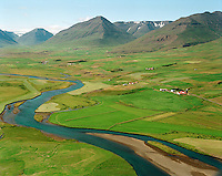 Espihóll séð til suðvesturs, Hrafnagilshreppur / Espiholl viewing southwest, Hrafnagilshreppur