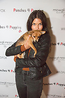 Destiny Sierra attends Punches for Puppies: Mowgli Rescue's Fundraiser Event at Wild Card West Boxing Gym & Wildfox Couture (Photo by Tony Ducret/Guest of A Guest)