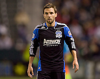 San Jose Earthquakes midfielder Bobby Convey (11). CD Chivas USA defeated the San Jose Earthquakes 3-2 at Home Depot Center stadium in Carson, California on Saturday April 24, 2010.  .