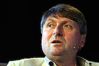 Sunday 25 May 2014, Hay on Wye, UK<br /> Pictured: Simon Armitage<br /> Re: The Hay Festival, Hay on Wye, Powys, Wales UK.