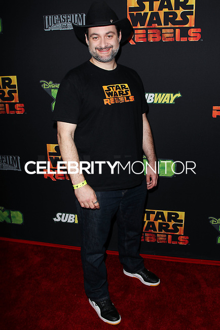 """CENTURY CITY, CA, USA - SEPTEMBER 27: Dave Filoni arrives at the Los Angeles Screening Of Disney XD's """"Star Wars Rebels: Spark Of Rebellion"""" held at the AMC Century City 15 Theatre on September 27, 2014 in Century City, California, United States. (Photo by Celebrity Monitor)"""