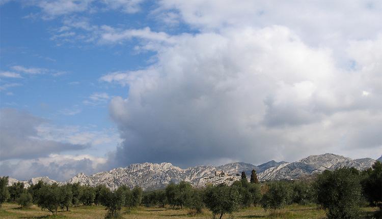 Les Alpilles, Provence, France