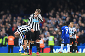 2nd December 2017, Stamford Bridge, London, England; EPL Premier League football, Chelsea versus Newcastle United; A dejected Mikel Merino of Newcastle United