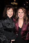 Elaine May & Marlo Thomas.exiting the Stager Door after  the Broadway Opening Night Performance of 'Gore Vidal's The Best Man' at the Gerald Schoenfeld Theatre in New York City on 4/1/2012