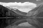 Avalanche Lake with Heaven's Peak in backbground. Glacier National Park, Montana