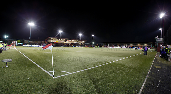 Ochilview at night